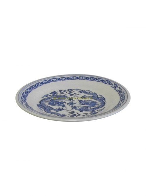 Plate blue dragon 15cm