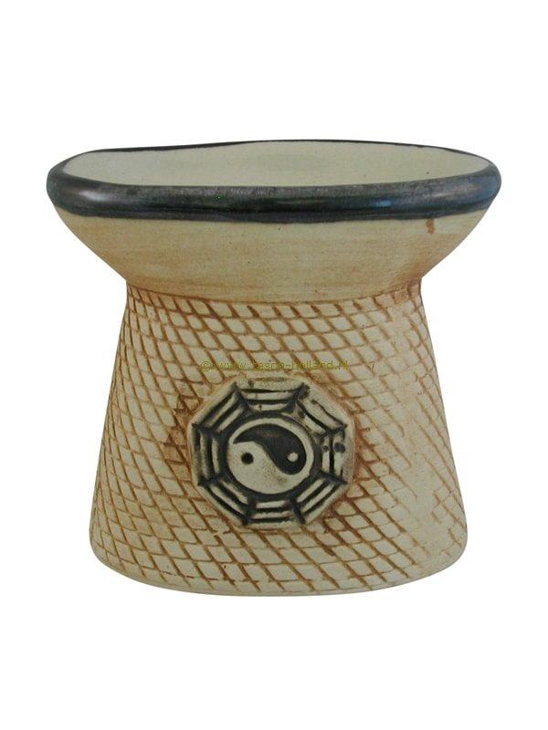 Olieverdamper ying yang 10x9,5 cm