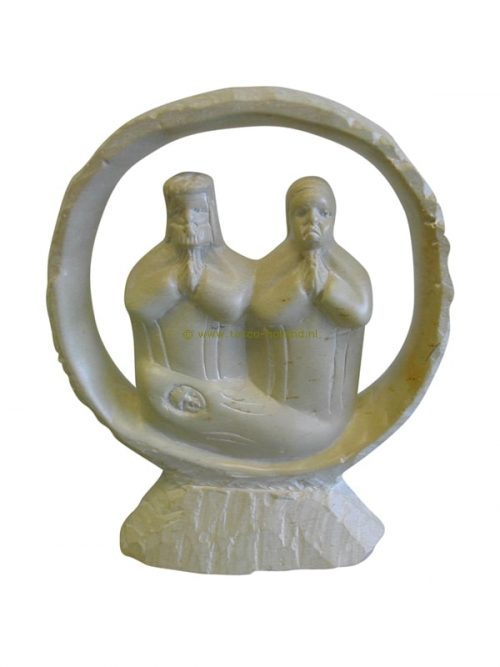 Religious figures/3 kisii-stone 15cm