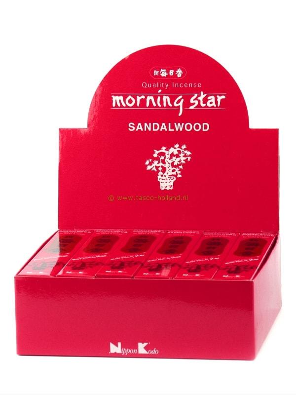 Wierookstokjes Morning Star Sandal 13 cm groothandel