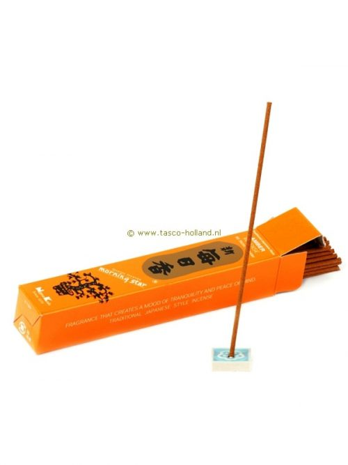 Incense Morning Star Amber 13x2.5x2.5 cm