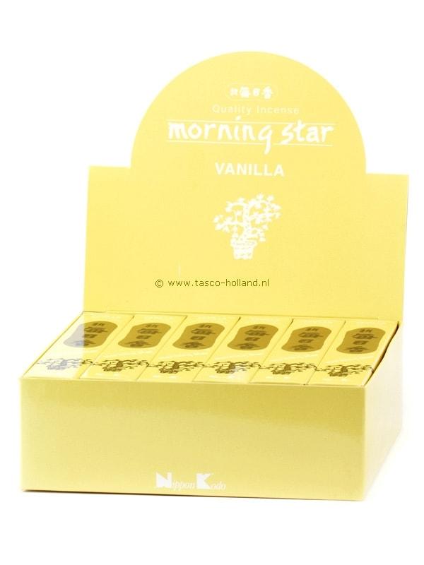 Wierookstokjes Morning Star Vanilla 13 cm groothandel