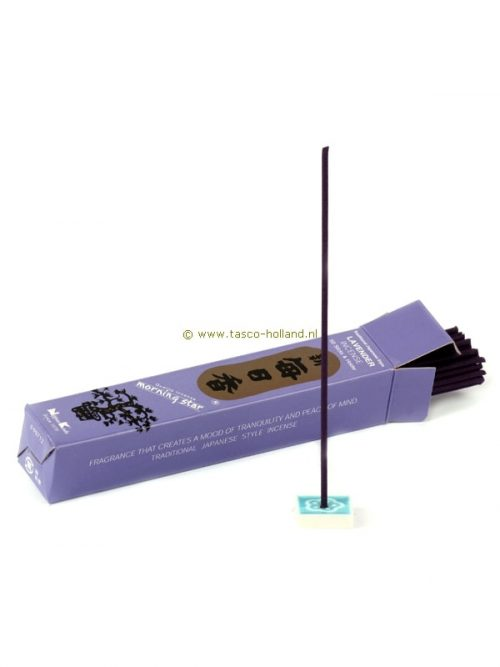 Incense Morning Star Lavender 13x2.5x2.5 cm
