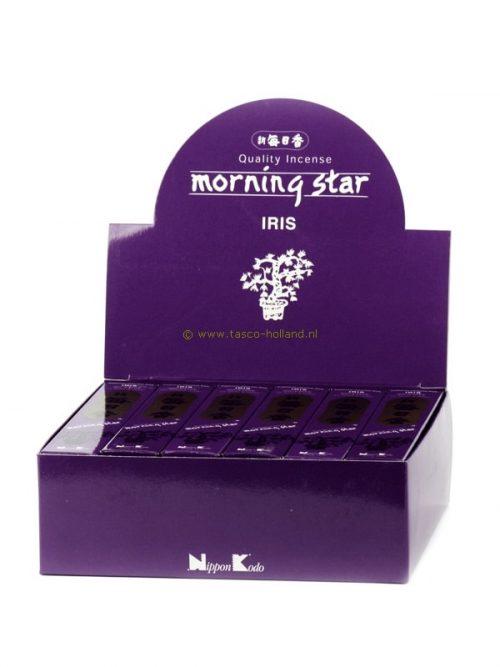 Wierookstokjes Morning Star Iris 13 cm