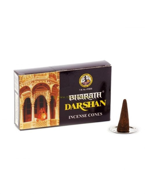 Incense cones Darshan 10.5x6.5x2cm