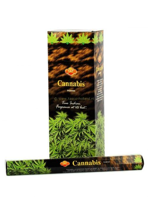 Wierook hexa cannabis 24 cm