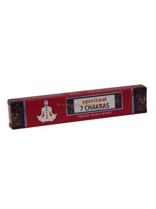Wierook Spiritual 7 Chakras 22x4.5x2 cm