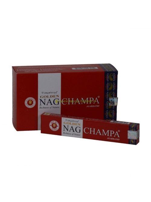 Wierook Golden Nag Champa 21x4x2 cm