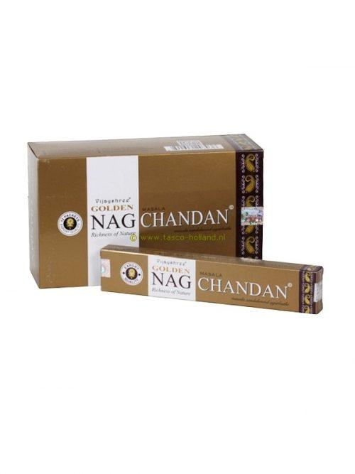 Wierook Golden Nag Chandan 21x4x2 cm