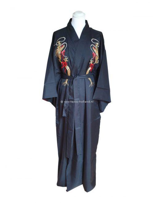 "Kimono/voering polyester 59"" dragon (053)"