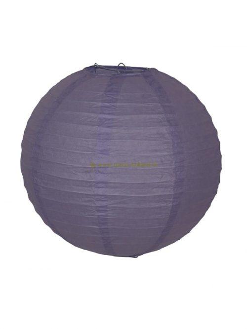 Lamp paars papier 30 cm