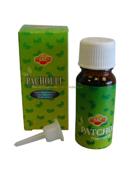 Geurolie Sac patchoulli 10 ml
