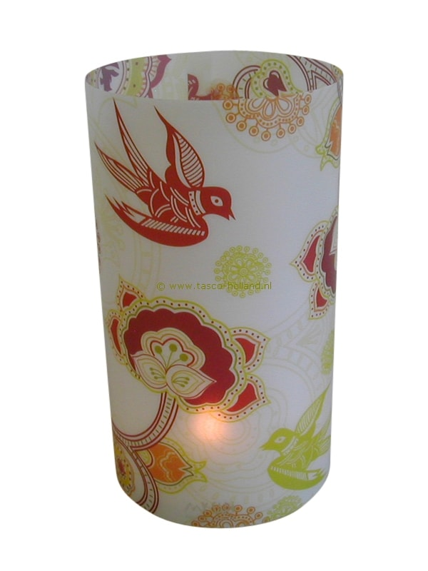 Candle cover round 103 16x9 cm