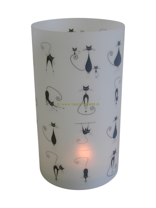 Candle cover round 114 16x9 cm