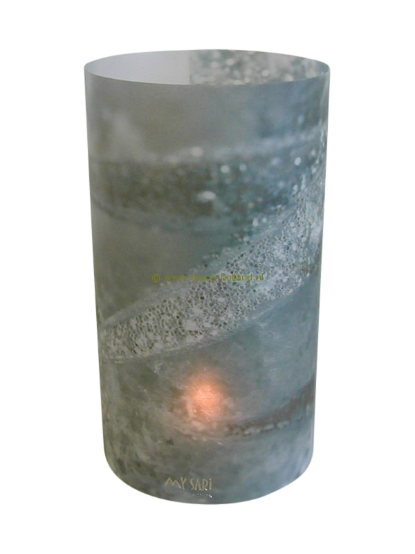 Candle cover round 119 16x9 cm