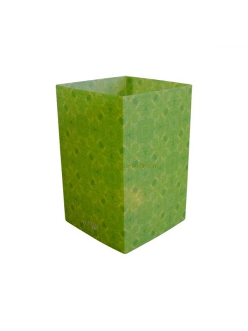 Candle cover square 148 12x7,5 cm