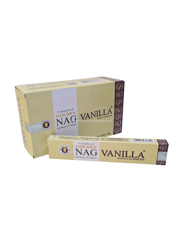 Wierook Golden Vanilla 22x4.5x2 cm per 12