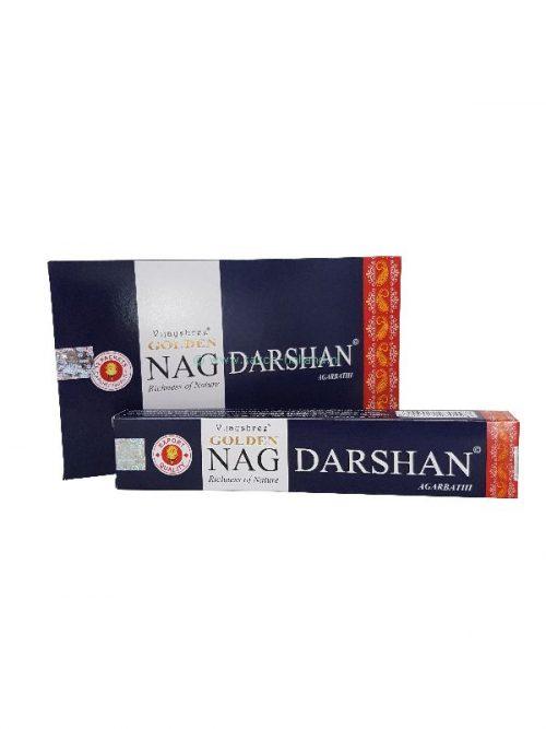 Wierook Golden Nag Darshan 21x4x2cm