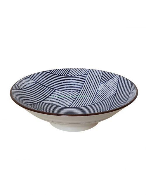 Tokusa cross bowl 24,5x7,5cm