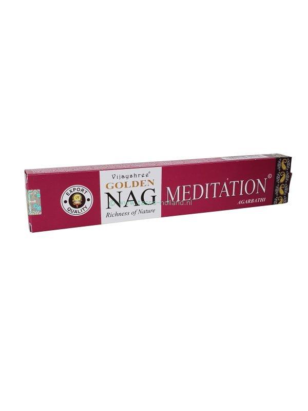 Wierook Golden Nag Meditation 22x4.5x2 cm