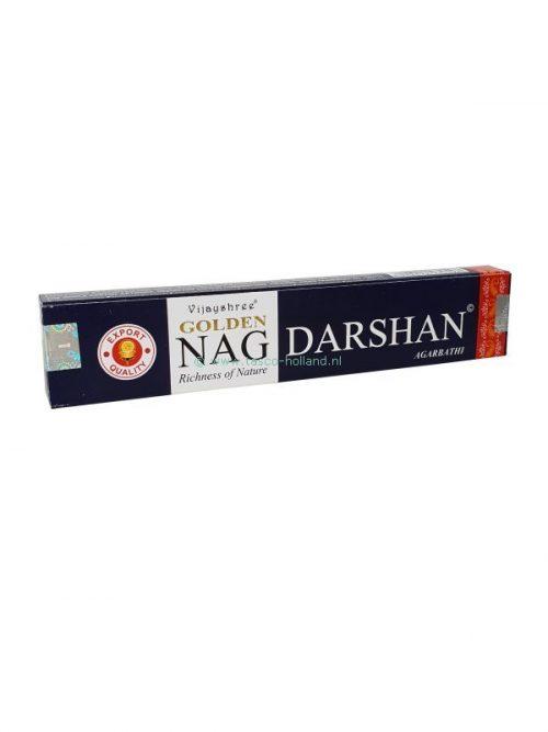 Wierook Golden Nag Darshan 22x4.5x2 cm