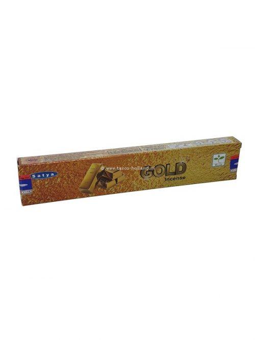 Wierook Satya Gold 22x4.5x2 cm