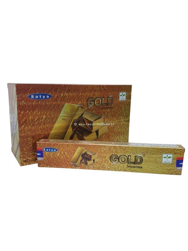 Wierook Satya Gold 22x4.5x2 cm groothandel