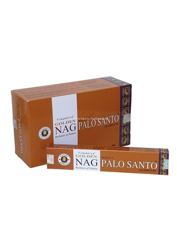 Wierook Golden Nag Palo Santo 22x4.5x2 cm per 12