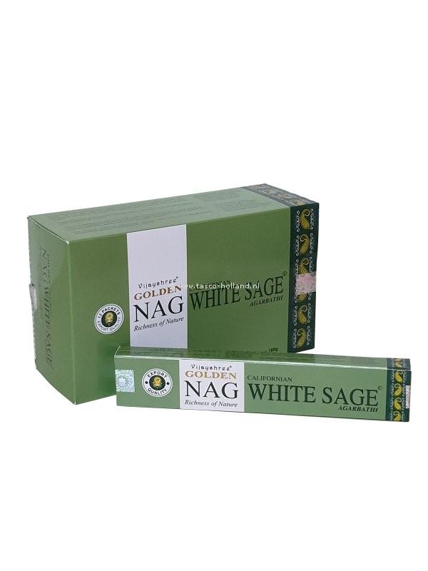 Wierook Golden Nag White Sage 22x4.5x2 cm per 12
