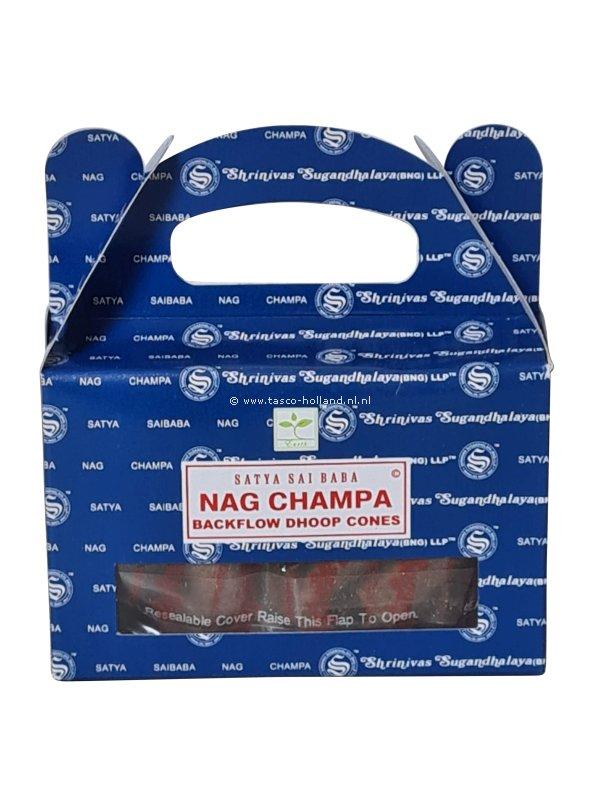 Backflow wierookpuntjes Satya Nag Champa