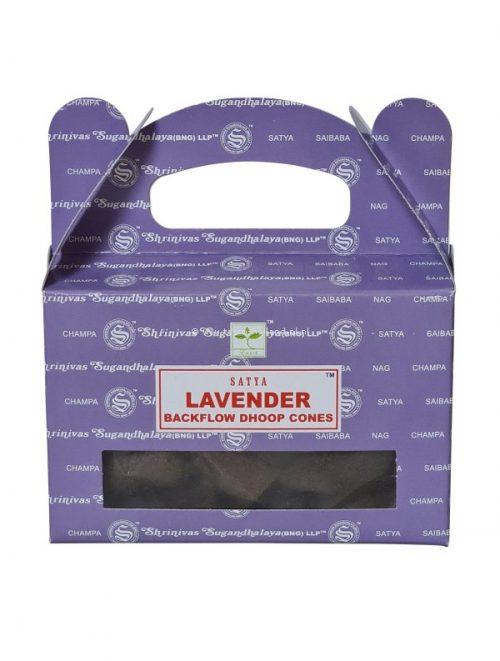 Backflow wierookpuntjes Satya Lavender