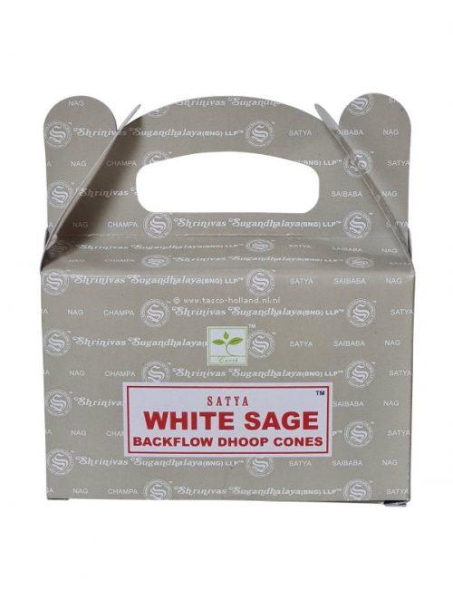 Backflow wierookpuntjes Satya White Sage