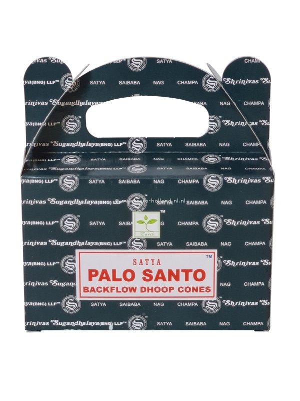 Backflow wierookpuntjes Satya Palo Santo