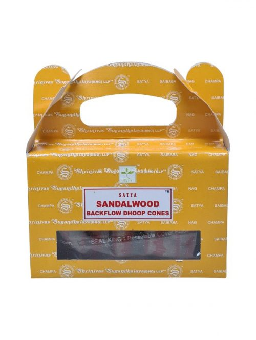 Backflow wierookpuntjes Satya Sandalwood