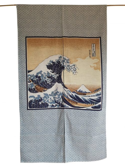 Noren (deurgordijn) 85x150cm hokusai
