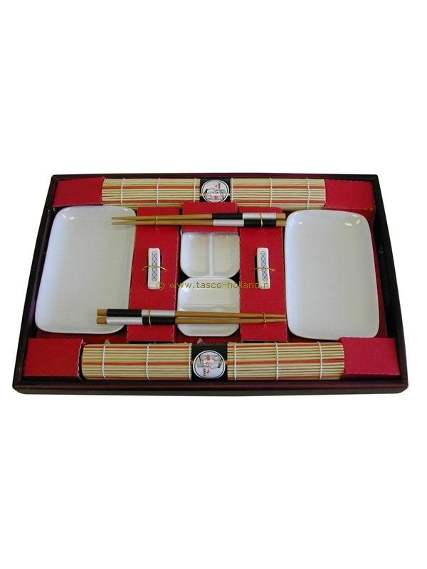 set/10 Sushi set wit 45x30x4 cm