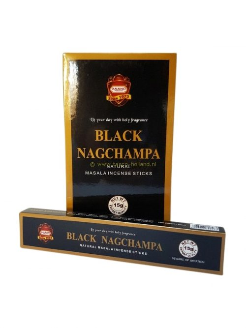 Wierook Black Nag Champa 21x4x2 cm