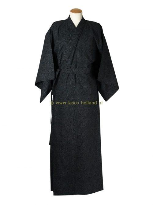 "Yukata cotton 59"" chidori (501) black"