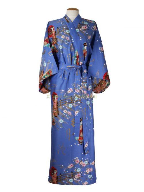 Kimono maiko katoen (560) paars