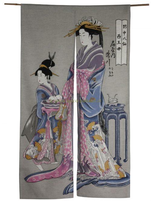 Noren (door curtain) 85x150cm oiran